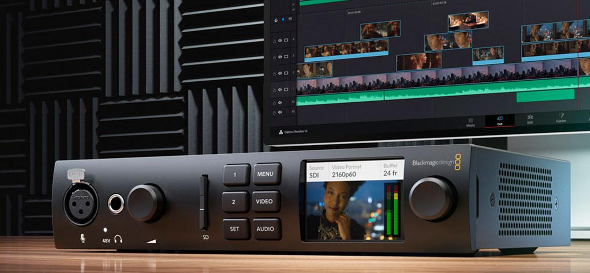 UltraStudio 4K Mini de Blackmagic Design